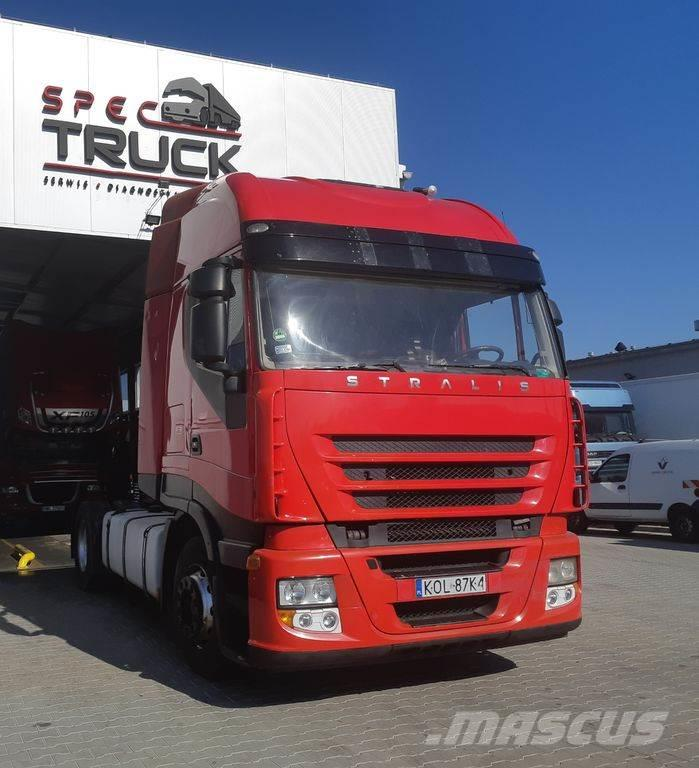 Iveco Stralis 450 ,Steel /Air , Manual , Air condition,