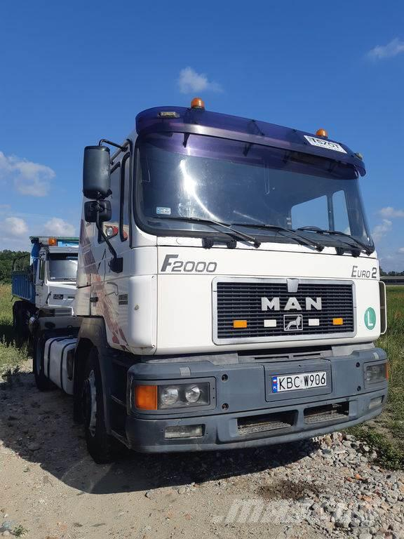MAN F2000 19.403 ,Steel /Air , ZF, Tipper hydraulics