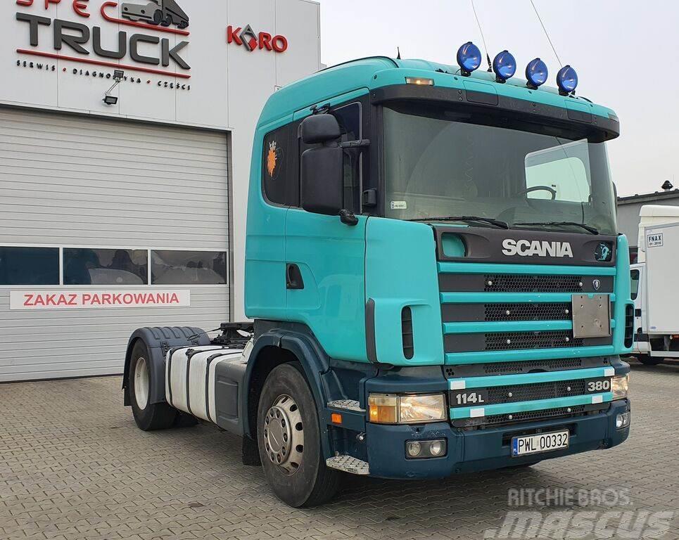 Scania 114.380 , Steel /Air, Manual, Tipper Hydraulic