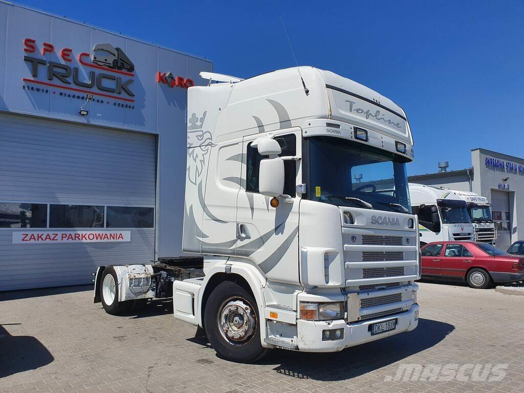 Scania R114 4X2, Manual