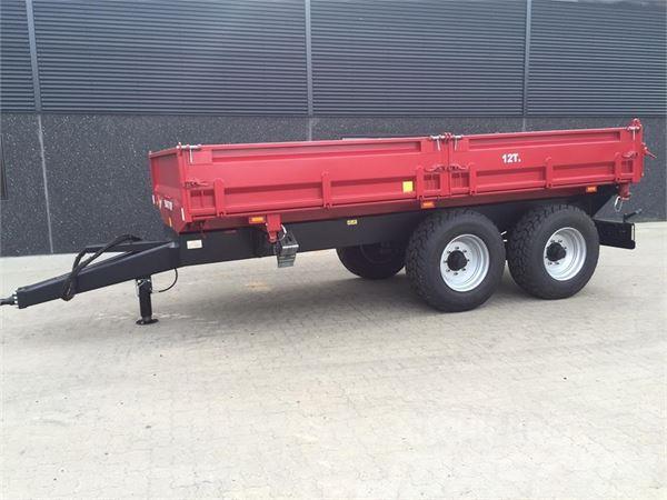 Baastrup 12 tons 3-vejs tip