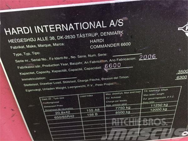 Hardi COMMANDER 6600 I 36 METER