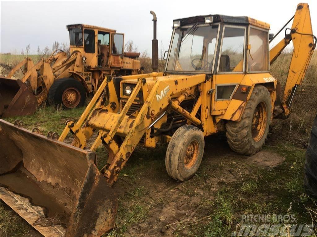 Massey Ferguson 50BX Sideforskydelig graver