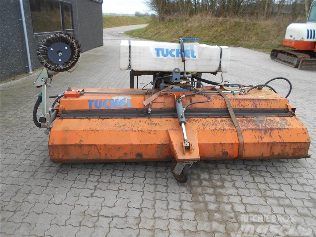Tuchel Profi 260 HS 600 Monteret med vandtank, opsamlings