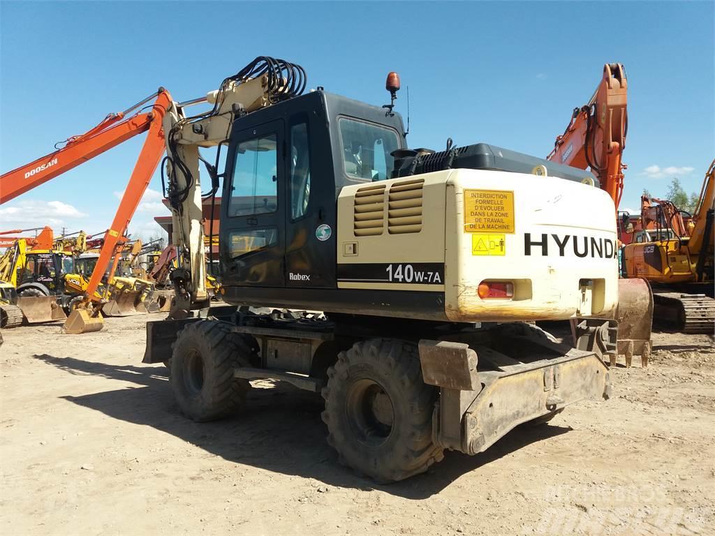 Hyundai Robex 140W-7A