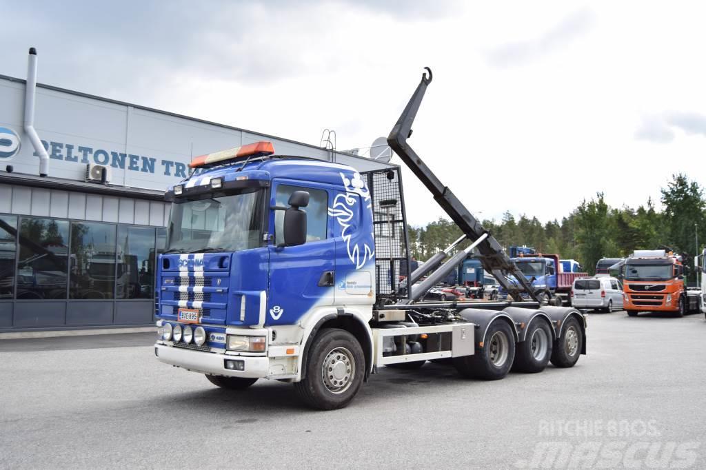 Scania 164 8x4 V8 Tridem