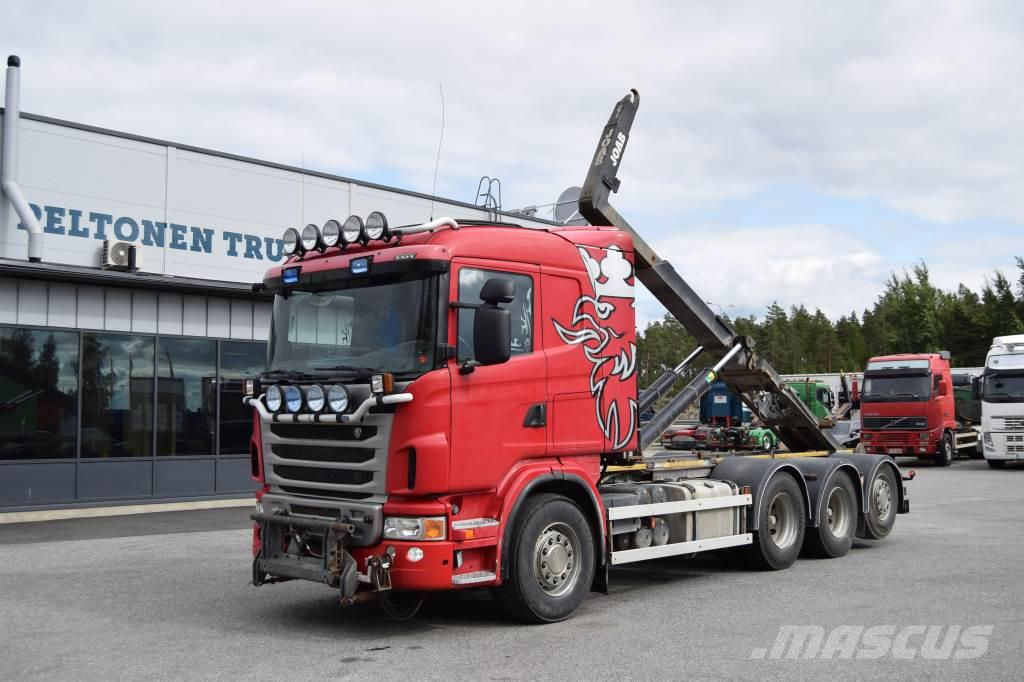 Scania G480 8x4 Tridem