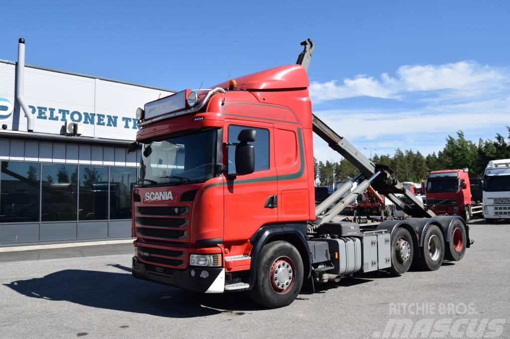 Scania G490 8x2 Koukkulaite