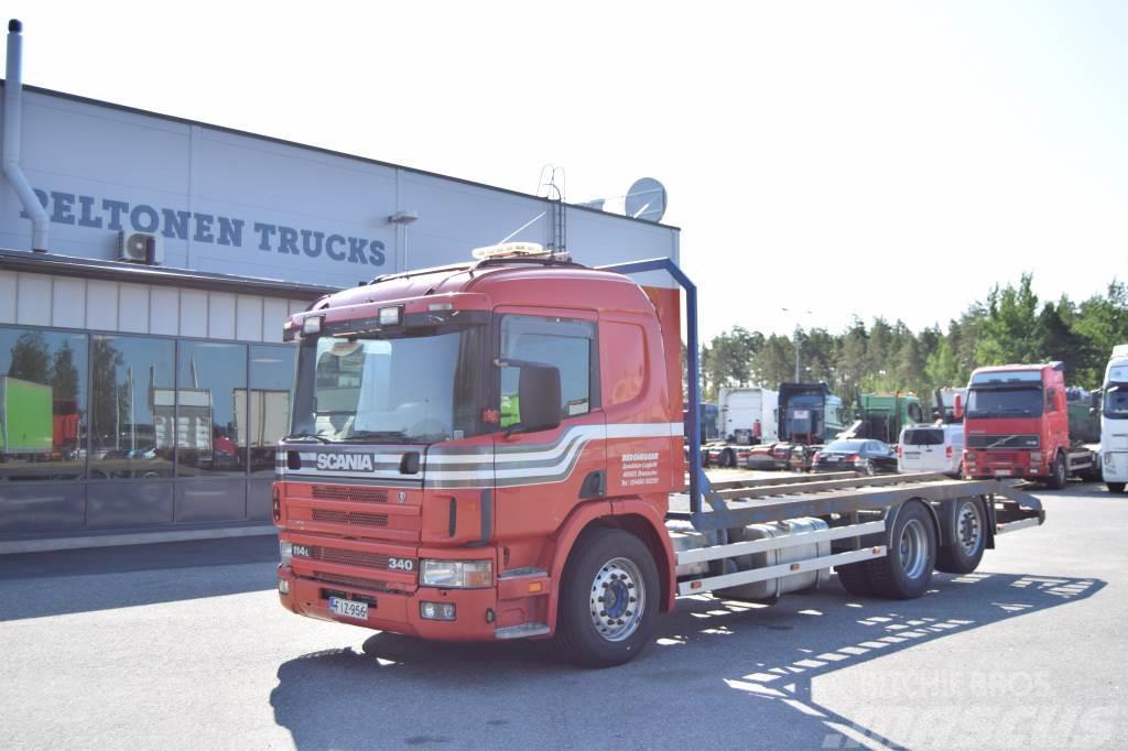 Scania P114 6x2 Kaivuriritilä