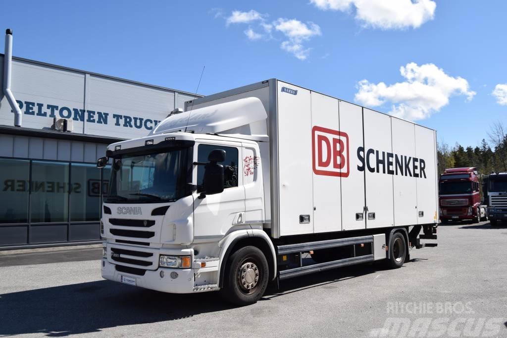 Scania P280 4x2 vain 161tkm