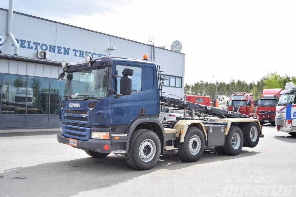 Scania P340 8x2 Vaijeriauto