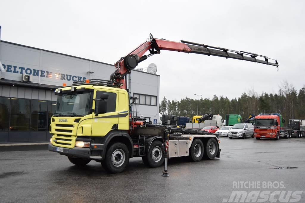 Scania P420 8x2 Nosturi vm.2012