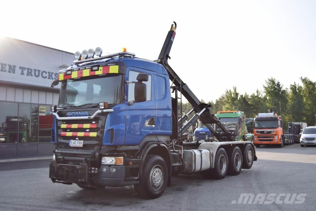 Scania R500 8x4 Tridem