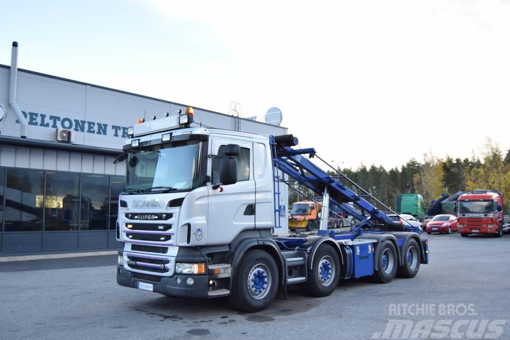 Scania R500 8x4 Vaijeri