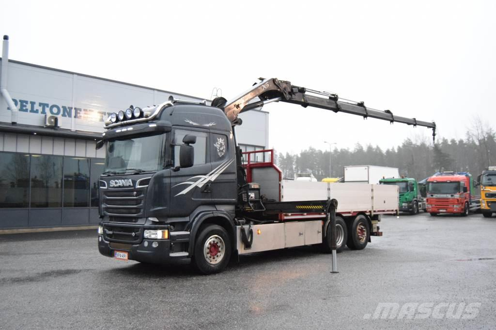 Scania R560 6x2 7,6m lava