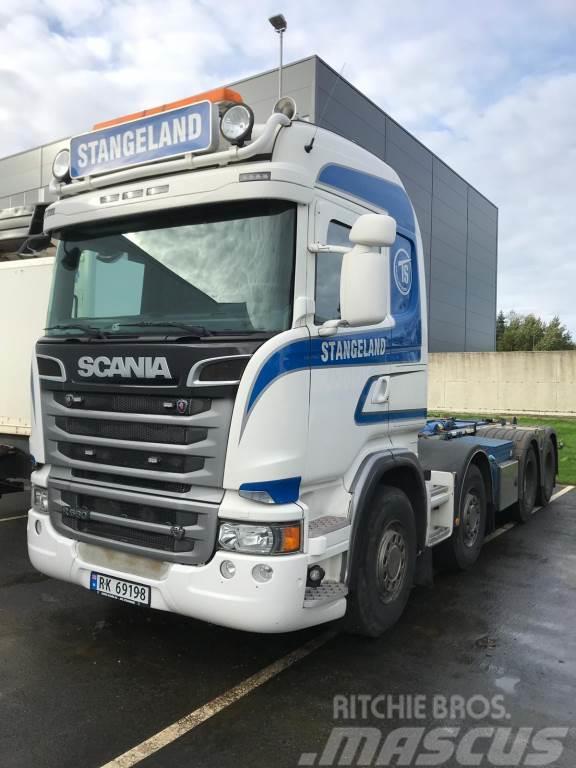 Scania R560 8x4 JOAB Tulossa