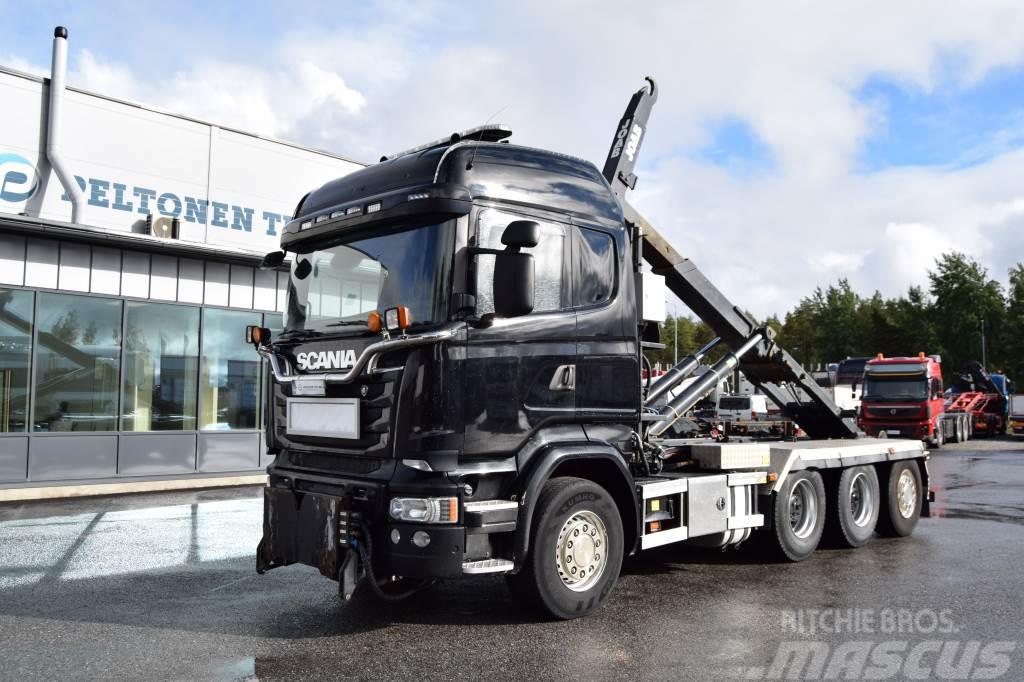 Scania R580 8x4 Tridem
