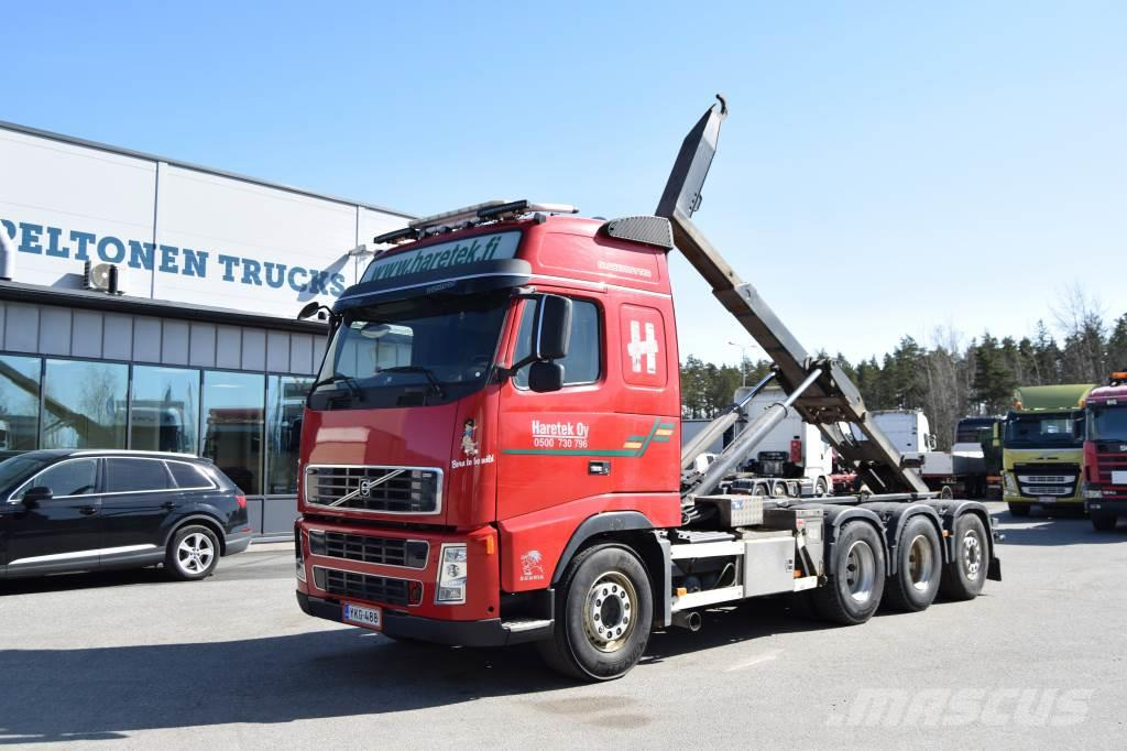 Volvo FH 16 8x4 koukkuauto