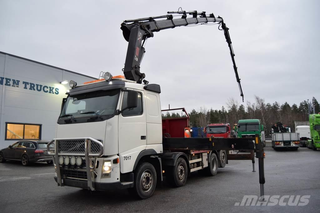 Volvo FH12 8x2 HIAB 42 Tulossa