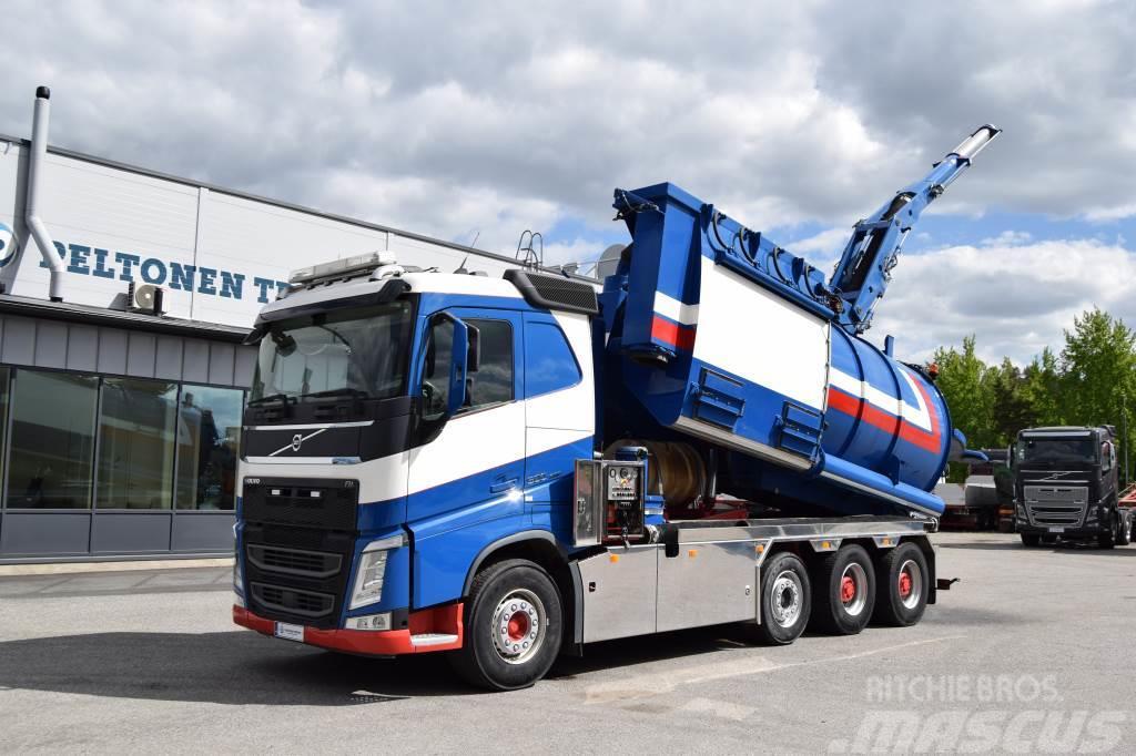 Volvo FH500 8x4 Suurtehoimuri