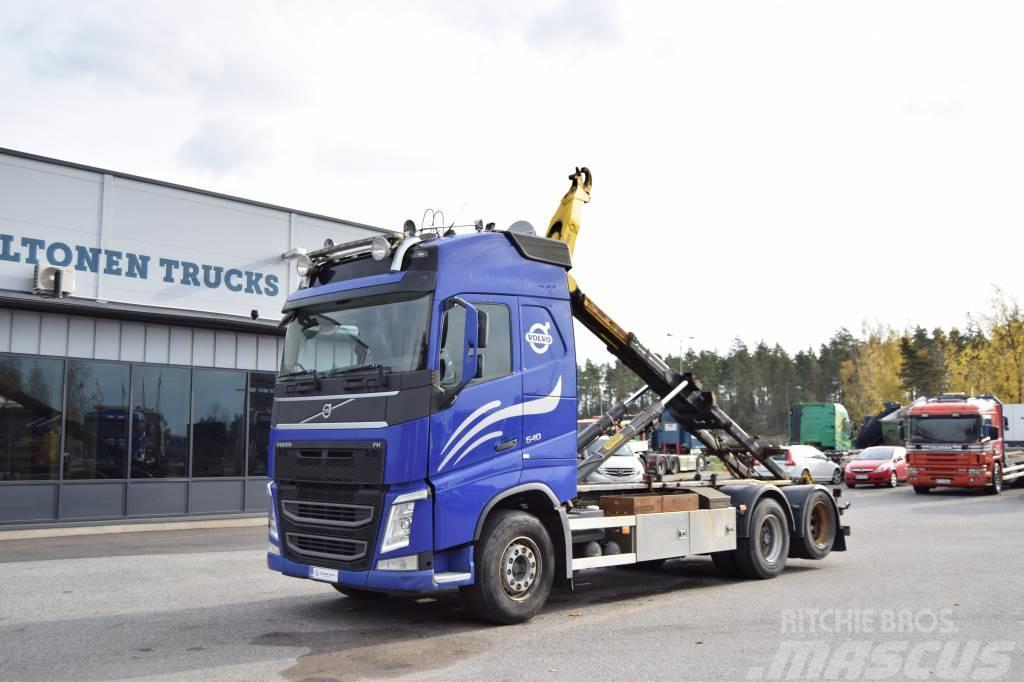 Volvo FH540 6x2 Palift