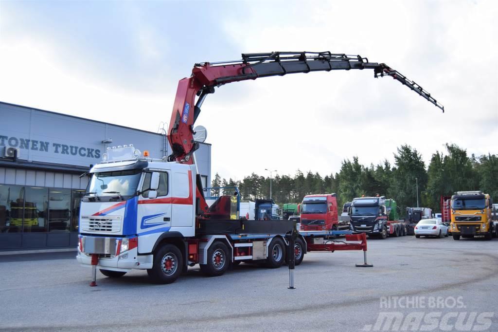 Volvo FH540 8x2 HMF 85