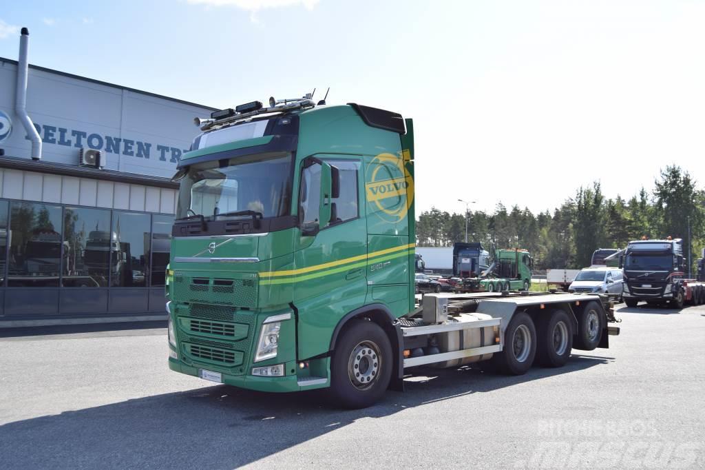 Volvo FH540 8x4 183tkm