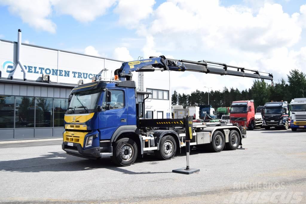 Volvo FMX450 8x4 Palfinger