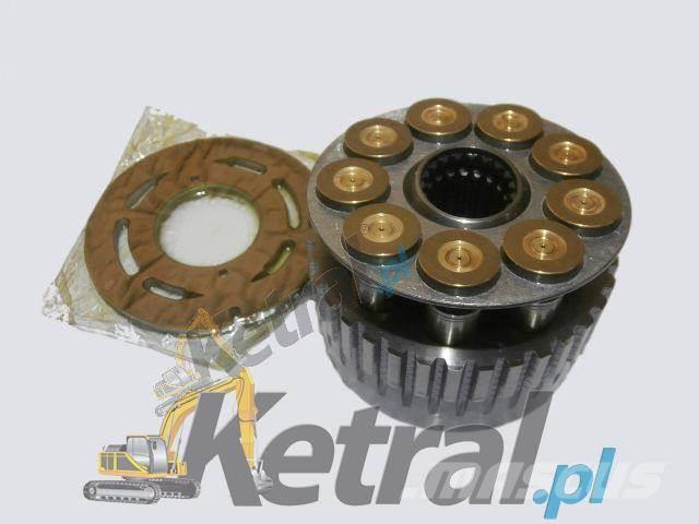 Kubota Układ rotacyjny hydromotoru Kubota KX 161