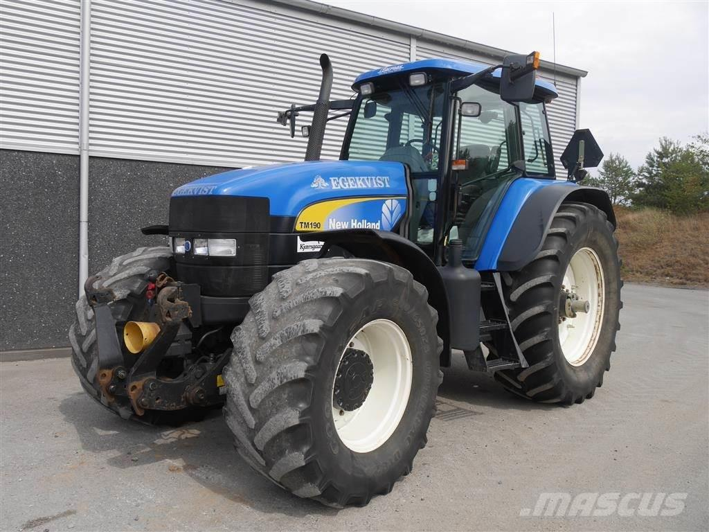 New Holland TM 190 DL Frontlift + PTO