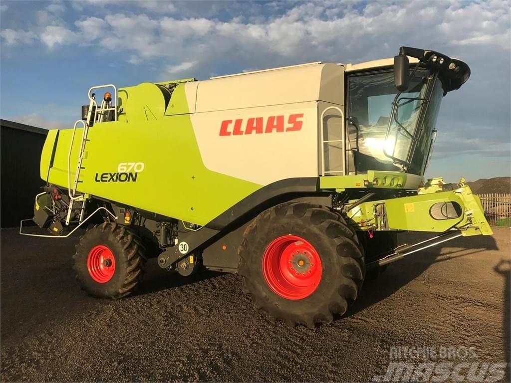 CLAAS Lexion670
