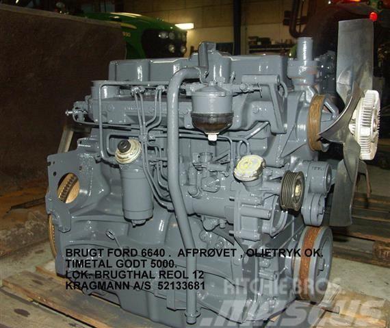 Ford 6640 MOTOR BRUGT.