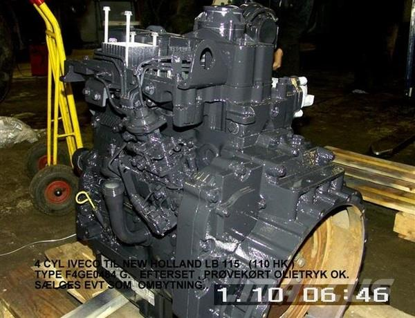 New Holland LB 115 MOTOR