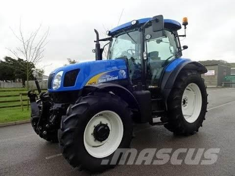 New Holland T6070 Elite Fabriksny motor