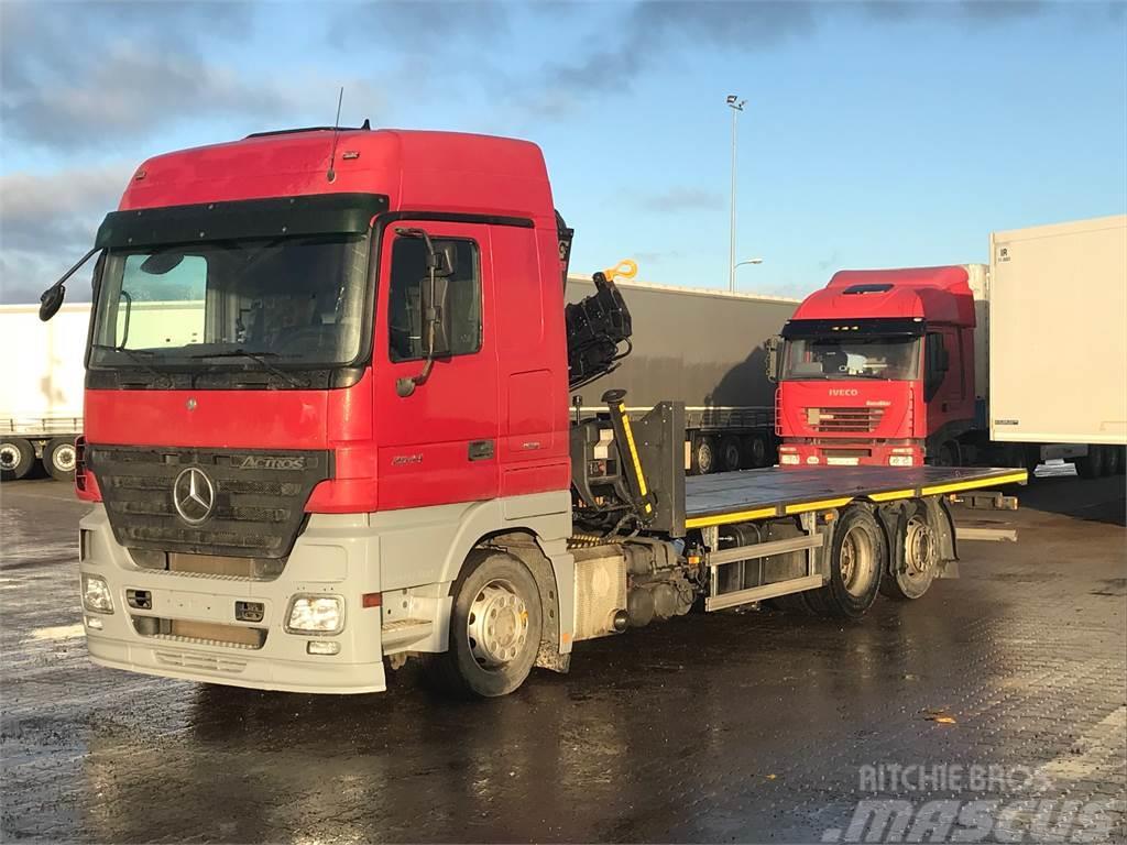 Mercedes-Benz ACTROS 2541LS/HIAB122-#BDUO