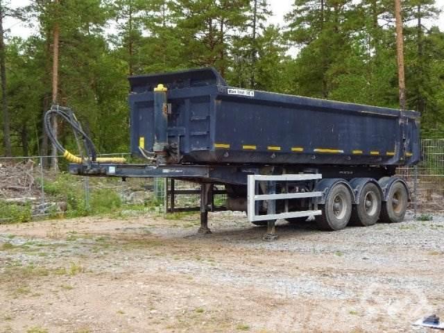 CMT CHOJNICE W25-50 3-axlar Tipptrailer - 13