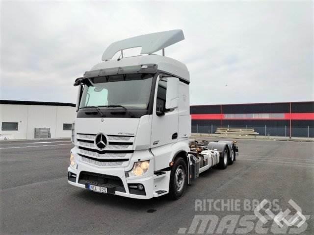 Mercedes-Benz ACTROS 6x2 Växelflak - 13