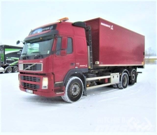 [Other] Lastvxlare med skp & bakgavellyft Volvo FM440 - No