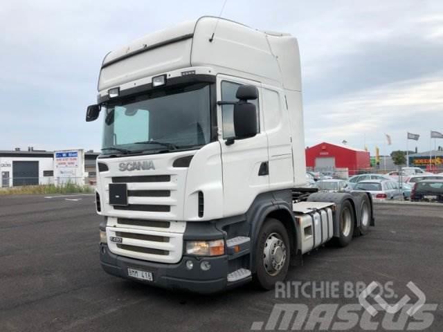 Scania R420LA MNA 6x2 Dragbil - 09