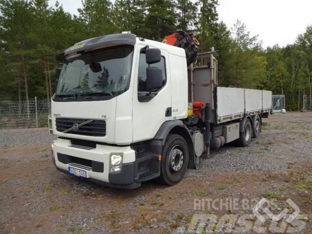 Volvo FE 340 6x2 Flak-lämmar (kran) - 11