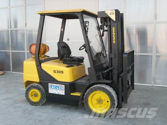 Used Daewoo -g30s-3 LPG Forklifts Year: 1999 for sale - Mascus USA