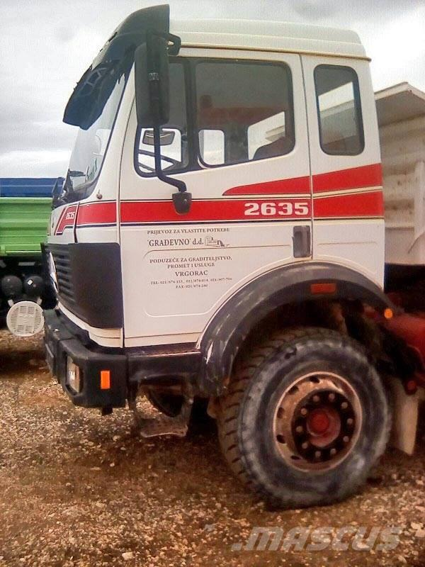 Mercedes benz 2635 tipper trucks year of mnftr 1995 pre for Used mercedes benz tipper trucks for sale in germany
