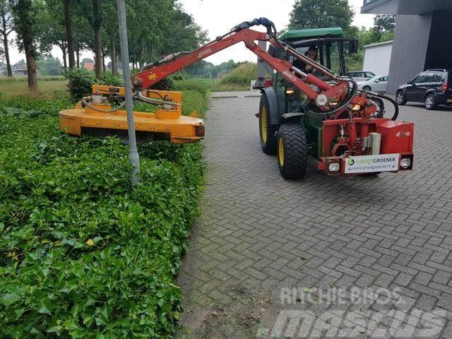 Dücker KBM350 MAAIARM+KLEPELBAK