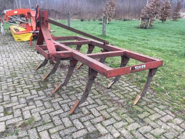 Evers 2.50 Meter Vaste Tand Cultivator