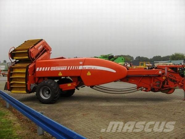 Grimme GZ1700 MS ROOIMACHINE