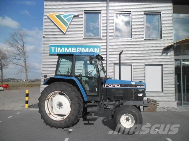New Holland 6640SLE 2WD TRACTOR