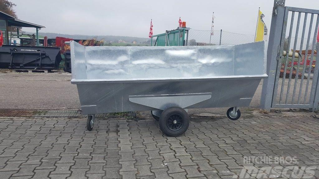 Fuchs Dungcontainer 230 cm mit EURO Aufnahme
