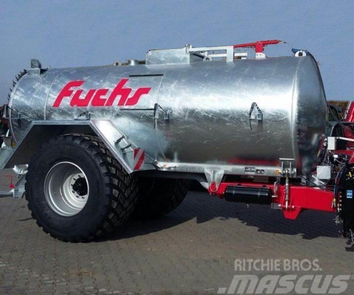 Fuchs Pumptankwagen PT 10 mit 10600 Liter