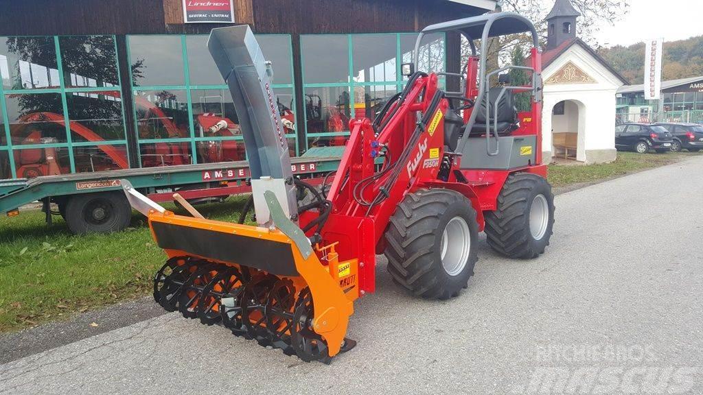 Fuchs Schneefräse L 1100 hydraulisch für Hoflader