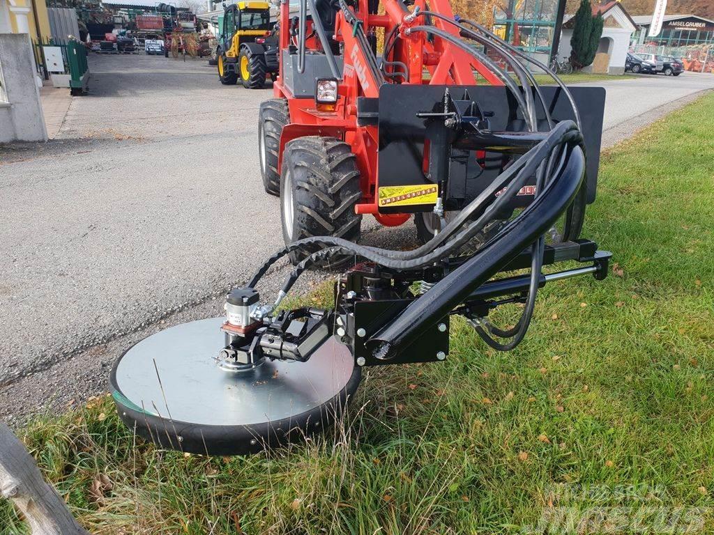 Fuchs Zaunmulcher für Hoflader hydraulisch